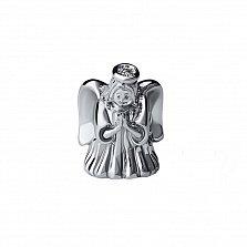 Серебряный кулон Ангелочек