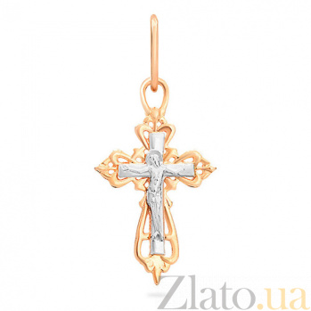 Золотой крестик Святой символ SUF--501510