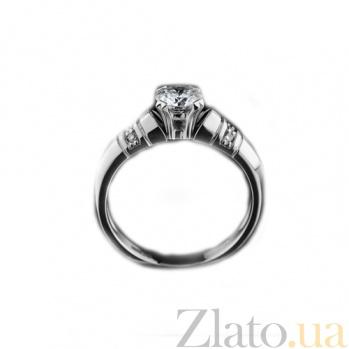 Кольцо для помолвки с бриллиантами Nicole KBL--К1613/бел/брил