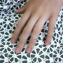 Золотое кольцо на фалангу Загадка