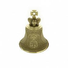Бронзовый именной колокольчик Св. Мария