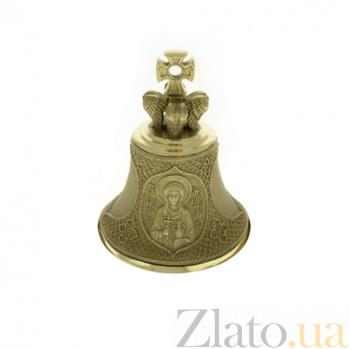 Бронзовый именной колокольчик Св. Мария K9011