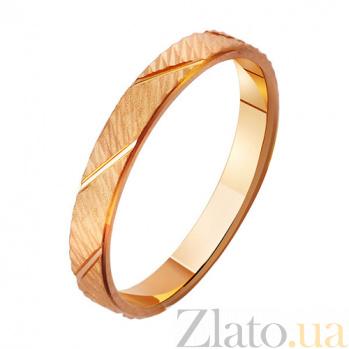 Золотое обручальное кольцо Феерия страсти TRF--4111368
