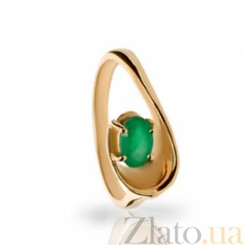 Золотое кольцо с изумрудом Честер 000030139