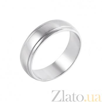 Обручальное кольцо из белого золота Гаянэ 10109/1б