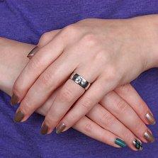 Серебряное обручальное кольцо Древо Мира