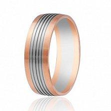 Золотое обручальное кольцо Феерия нежности