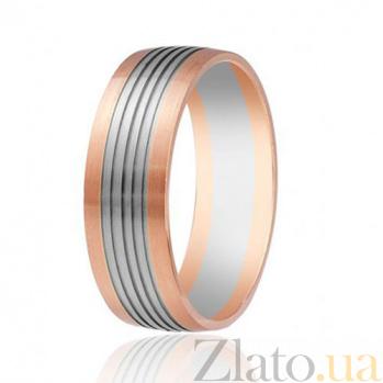 Золотое обручальное кольцо Феерия нежности 000001634
