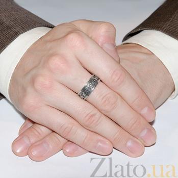 Серебряное кольцо Печать фараона AUR--71027*