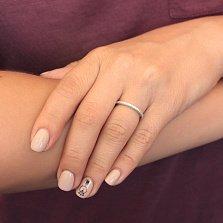 Серебряное кольцо с цирконием Жанетт
