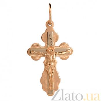 Золотой крест Господне Спасение HUF--11124
