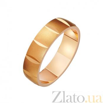 Золотое обручальное кольцо Ночь любви TRF--411214