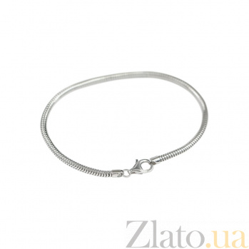 Серебряный браслет для шармов Невада 000082050
