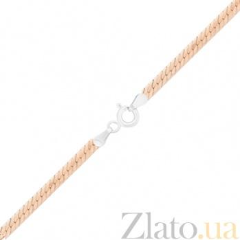 Серебряный браслет с позолотой Марсель 000027801