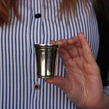 Серебряная стопка Дивный напиток с чернением, 50мл