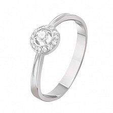 Золотое кольцо с бриллиантами Элла