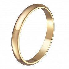 Обручальное кольцо Тоскана в желтом золоте
