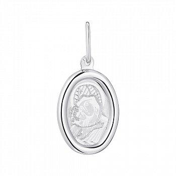 Серебряная ладанка Икона Божией Матери 000123255