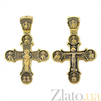Золотой крест Небесные покровители HUF--11504