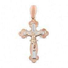 Золотой крестик Светлый покровитель