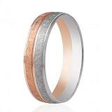 Золотое обручальное кольцо Вечная страсть