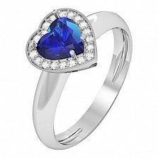 Золотое кольцо с сапфиром Melia