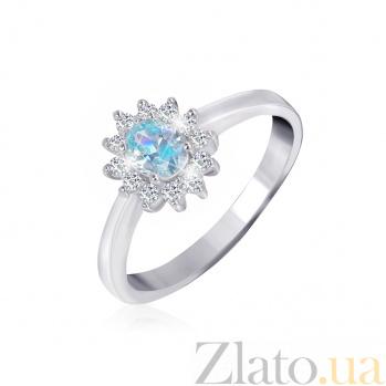 Серебряное кольцо с фианитами Анкария 000025475