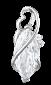 Серебряный подвес с фианитами Шаиста 000025260