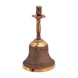 Бронзовый колокольчик Свято-Духовский скит с подсвечником 000004560