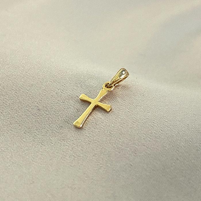 Крестик в красном золоте Оберег 000122240 000122240