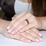 Золотое обручальное кольцо Тайна любви