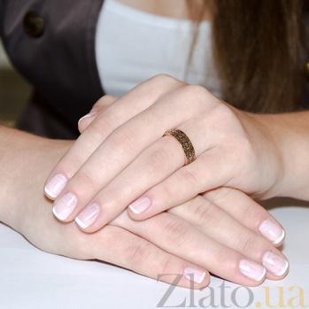 Золотое обручальное кольцо Тайна любви 2084