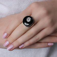 Серебряное кольцо с агатом Формула страсти