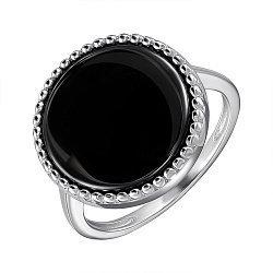 Срібне кільце з керамікою 000147843
