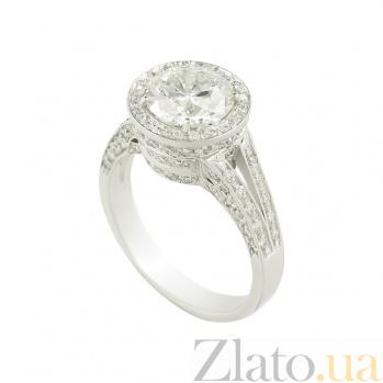 Золотое кольцо с бриллиантами Бренда 1К038-0046
