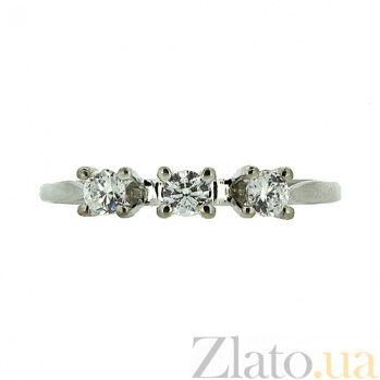 Серебряное кольцо с цирконием Джита ZMX--RCz-6975-Ag_K