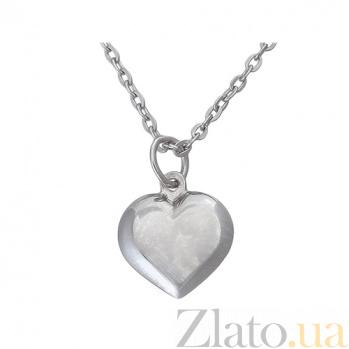 Серебряное колье Голос сердца TNG--860154С