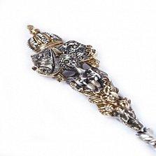 Серебряная столовая ложка Корона Англии