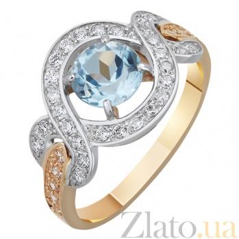 Золотое кольцо с топазом Герцогиня AUR--31773 02