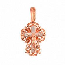 Золотой крестик Символ веры