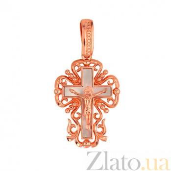 Золотой крестик Символ веры VLT--Е3406