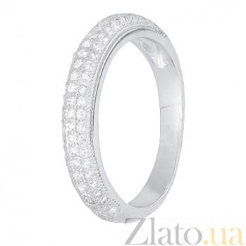 Серебряное кольцо с цирконием Сафура 000028272