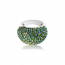 Серебряное кольцо Амазония