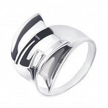 Серебряное кольцо Транс с фантазийной частью шинки