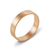 Обручальное серебряное кольцо Аланта в позолоте