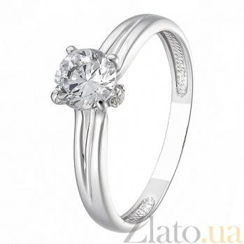 Серебряное кольцо Дорога к сердцу HUF--14231-Р