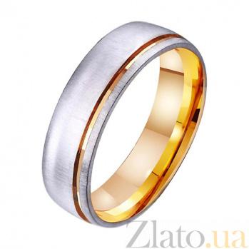Золотое обручальное кольцо Happy Life TRF--411431