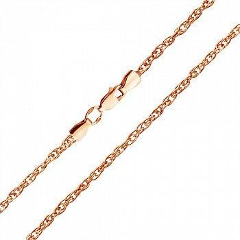 Серебряная цепочка с позолотой, 2,5мм 000082881