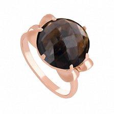 Золотое кольцо Самида с раухтопазом