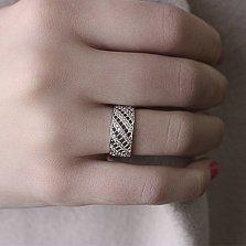 Серебряное кольцо Линара с фианитами